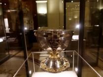 Dublin, musée national d'Irlande, calice en argent