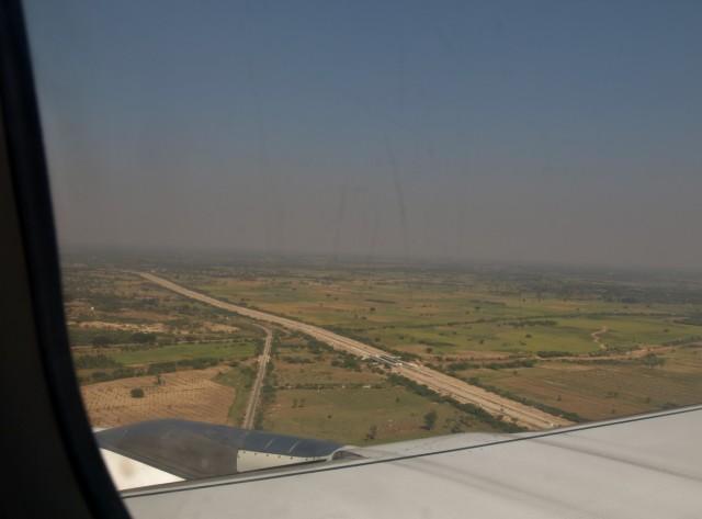 descente vers Mandalay
